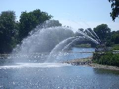 forks fountain picture